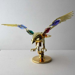 Adler bunt mit Swarovski...