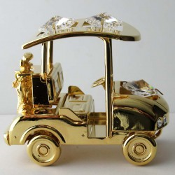 Golf-Car mit Swarovski...