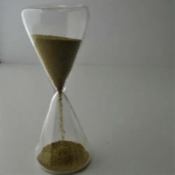 Sanduhr 30 sek. 13 cm Glas...