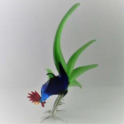 Vogel Kampfhaehne zum stellen