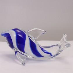 Delfine blau-weiss gestreift