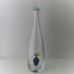 Flasche mit Traube Viol...