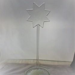 Glas Stecker Stern...