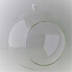 Glas Windlichtkugel 15 cm...
