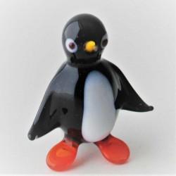 Glas Pinguin 30mm zum stellen