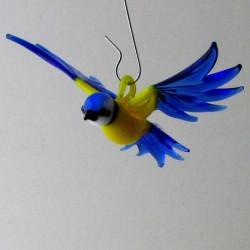 Glasvogel Blaumeise 65mm...