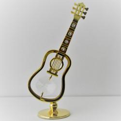 Gitarre mit Swarovski...