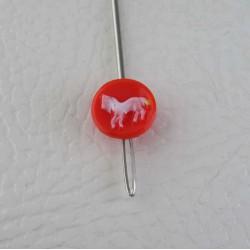Knöpfe 11 mm für Kinder rot...