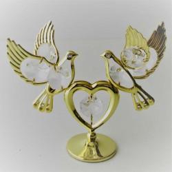 Herz mit 2 Tauben auf...