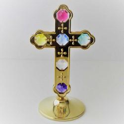 Kreuz mit Farbigen...