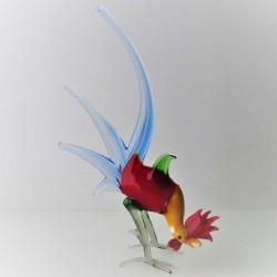 Vogel Kampfhaehne 22cm zum...