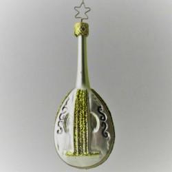 Laute Gold-Silber matt 12 cm