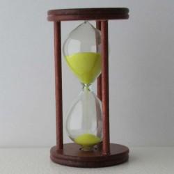 Sanduhr 1 Minuten 9cm Glas...