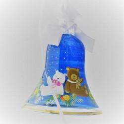 100 mm Blau Baer Weihnacht...