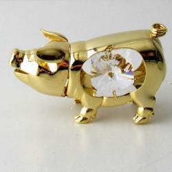 Schwein mit Swarovski...