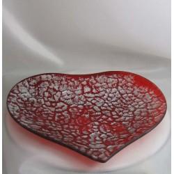 Glas-Herzen Schale...