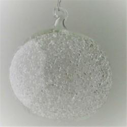 Schneekugel  100 mm  klar