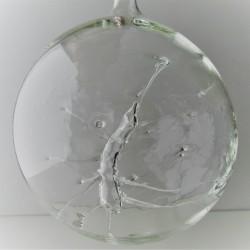 Glaskugel mit Fantasie 80 mm