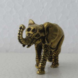 Elefant Messing Bronze mini...