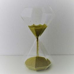 Sanduhr 30 sek. 19 cm Glas...