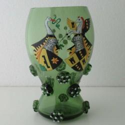 Römerglas mit Wappen...