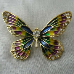 Schmetterling Brosche...
