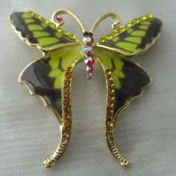 Schmetterling Brosche und...
