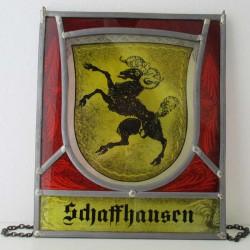 Wappenscheibe Schaffhausen...