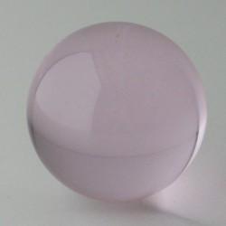 Kristallglas Kugel Rosa  30...