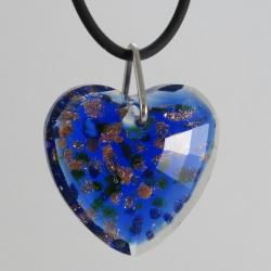 32 mm Herz gruen - blau...