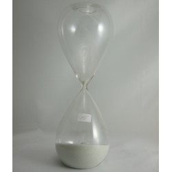Sanduhr 15 Minuten 20 cm Glas