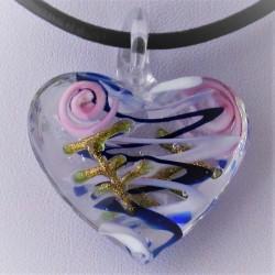 31mm Muranoglas Herz zum...