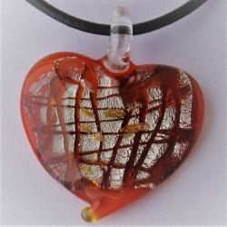 50mm Muranoglas Herz zum...