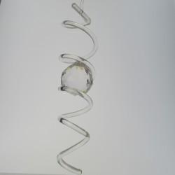 40 mm Glasspirale mit...