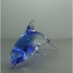 Delfine 12cm klar-blau,