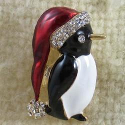 Brosche Pinguin sortiert...