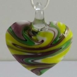 40mm Muranoglas Herz zum...