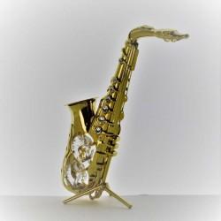 Saxophon mit Swarovski...