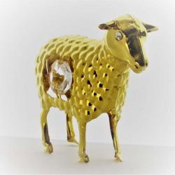Schaf mit Swarovski...