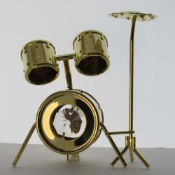 Schlagzeug mit Swarovski...