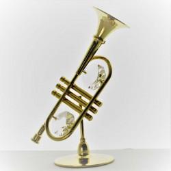 Trompete mit Swarovski...