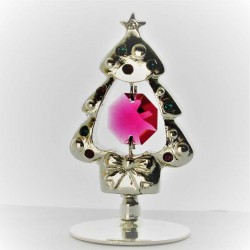 versilberte Weihnachtsbaum,...