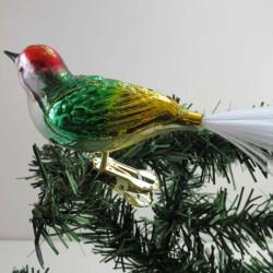 Vogel mit gedrehten Kopf,...